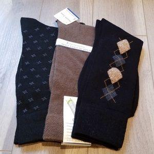 Other - 3 Pair Men's Sock Assortment